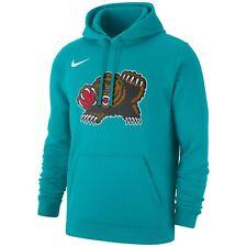 Nike Memphis Grizzlies Men's NBA Hardwood Classics Club Logo Pullover Hoodie