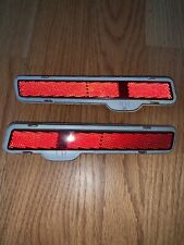 80-89 Cadillac Brougham Deville Fleetwood Rear RH LH Marker Light LEFT AND RIGHT