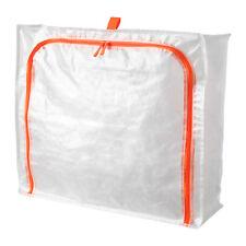 Storage Bag Plastic Case Zip Bag Store Clothes Shoes Bedlinen IKEA PARKLA NEW