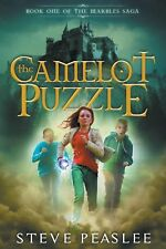 The Camelot Puzzle by Steve Peaslee (English) Paperback Book Free Shipping!