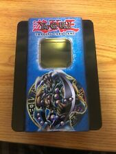 yugioh trading card game metal collectible tin + Penalty Game! trap card