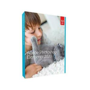 Adobe Photoshop Elements 2020 - PN 65299344 - PC/Mac Disc Version - New GENUINE