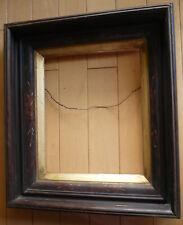 ANTIQUE FRAME 19th CENTURY OLD FRAMING, VICTORIAN EASTLAKE Style w/ GOLD LINER