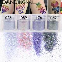 4Pot/Set Glitter Eye Shadow Chunky Holographic Nail Art Face Body Paint