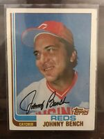 1982 Topps Johnny Bench #400 Reds