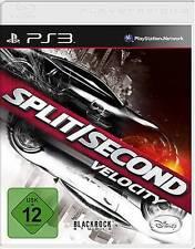 Playstation 3 SPLIT SECOND VELOCITY * DEUTSCH GuterZust.