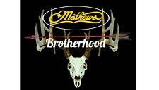 "Mathews Brotherhood decal 10"" wide X 8"" tall"