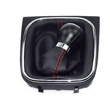 1KD711113A 5-Speed Manual Leather Gear Shift Knob For VW GOLF Jetta MK6 Mk5 EOS