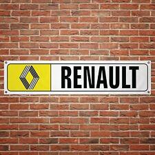 Renault 72 Banner Garage Workshop PVC Sign Trackside Display Vintage Classic Car