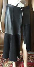 SPORTMAX Woman's fantastic skirt, black color, size 38, detachable zipper  Gonna