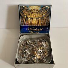 Spectacular Interior Jigsaw 750 Piece Puzzle Wonderful World Golden Church