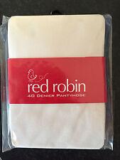 BNIP Red Robin Brand Girls Age 4-6 Years Cream 40 Denier Jackie Tights Pantyhose
