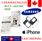 Nano Micro Sim Card Adapter Conversion Kit With Pin For iPhone Samsung Android