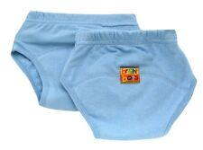 Bright Bots Potty Training Pants (2pk, Pale Blue, Small, 12 -18 months)
