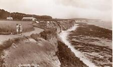 Sewerby Cliffs Nr Bridlington  unused RP old pc Edward Taylor
