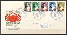 KANKERBESTRIJDING 1955 FDC E23 - GETYPT ADRFES, BIJ DE PUNT GESLOTEN  Ka277