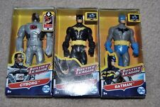Lot Of 3 Mattel DC Justice League Batman Cyborg 6'' Figures Brand new