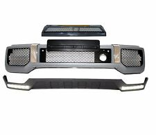 Mercedes Benz W463 G class G63 AMG front bumper + front lip led + scoop B-style