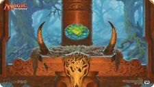 Official Wizards of The Coast Signed Raoul Vitale Mox Emerald PlayMat