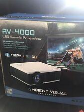 Ambient Visual AV-4000 Led 4K 3D projector