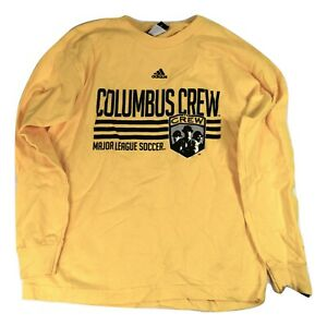 adidas MLS Youth Columbus Crew Soccer Shirt New M
