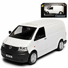 VW VOLKSWAGEN T5 1:43 Van Car Model Die Cast Transporter Miniature Toy White
