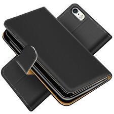 Handy Hülle für iPhone 5C Schutz Klapp Etui Booklet Flip Cover PU Leder Tasche