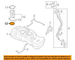 NISSAN OEM 08-13 Rogue 2.5L-L4 Fuel System-Fuel Pump Seal 17342EM30A