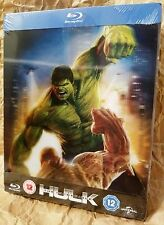 INCREDIBLE HULK (2008) BluRay Zavvi UK Limited STEELBOOK w/ Lenticular Magnet