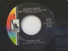 "BOBBY VEE ""I'M INTO LOOKIN FOR SOMEONE TO LOVE ME / THANK YOU"" 45 NEAR MINT"