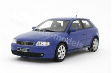 OTTO MOBILE Audi S3 Facelift Blue 1:18 LE 1000pcs OT099 *Rare Find! LAST ONE!
