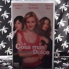 LA COSA MAS DULCE (Roger Kumble) VHS . Cameron Diaz Christina Applegate