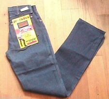 WRANGLER COLLECTOR 1960s MEN BLUE DENIM RIVETED JEANS~COWBOY RODEO~NEW&TAG~28x33