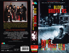 BRUCE SPRINGSTEEN AND THE E STREET BAND● Rara VHS VIDEOCASSETTA ● BLOOD BROTHERS