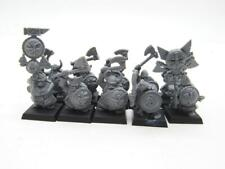 (5097) Dwarf Warriors Regiment Dwarfs Cites Of Sigmar Fantasy Warhammer
