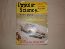 VINTAGE POPULAR SCIENCE FEBRUARY 1963 MONTHLY MAGAZINE