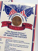 1976-D Bicentennial Encased Lincoln PennyShippensburg Coin Club   *05