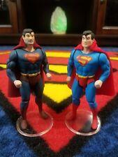 2 pack - Custom Super Powers Superman 3 Evil & regular Christopher Reeve Version