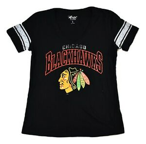 G-III 4 Her Womens NHL Chicago Blackhawks Hockey Shirt New M, L, XL
