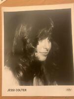 Jessi Colter 1978 Original Capital Records 8x10 Press Photo Excellent Condition
