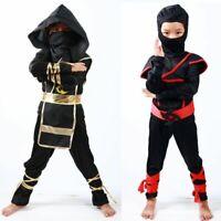 Ninja Costume Christmas Halloween Fighter Reaper House Party Decor For Kids Boys