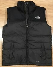 THE NORTH FACE 600 Down Puffer Vest Boys Size Large Gray And Black
