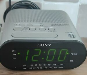 Vintage Sony Dream Machine Alarm Clock Radio ICF-C218 Tested and Working.