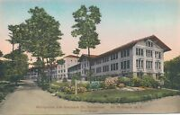 WILTON NY –Metropolitan Life Insurance Co. Sanatorium Rest House–Hand Colored PC