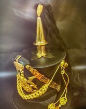 Black Hussar General Leatheret Helmet With Spike In 57,58cm
