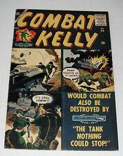 Combat Kelly # 44...FINE...6.0 grade--A....1957 Atlas comic..final issue