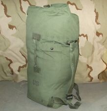 Military Duffle Bag Sea Bag Backpack Duffel Pack w/ Shoulder Straps Grade 3 Fair