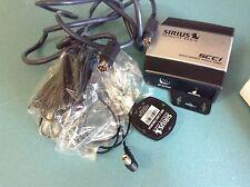Used Sirius SCC1 satellite radio universal car tuner/ antenna/ w 8pin , mount br
