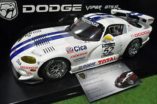 DODGE VIPER GTS-R # 52 SEBRING 1997 Archer Bell au 1/18 AUTOart 89722 miniature
