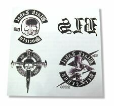 BLACK LABEL SOCIETY SET OF FOUR DIFFERENT LOGO TEMPORARY TATTOOS NEW